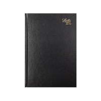 Letts 11Z A4 Day/Page Diary Black 2019 19-T11ZBK