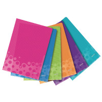 Leitz WOW L Folder Polypropylene A4 Assorted (Pack of 6) 40500099