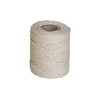 Flexocare Cotton Twine 125Gms Medium White (Pack of 12) 77658008