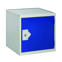 One Compartment Cube Locker D300mm Blue Door MC00085