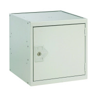 One Compartment Cube Locker D300mm Light Grey Door MC00086