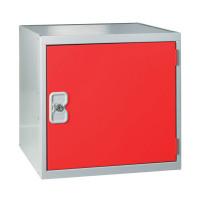 One Compartment Cube Locker D300mm Red Door MC00089