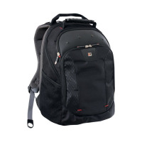 Gino Ferrari Juno 16 inch Black Laptop Backpack GF501