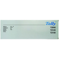 Tally T2040 Black Fabric Ribbon 060426