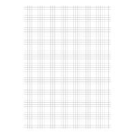 Graph Paper Loose A4 Quad Ruled 75gsm 1000 Pages 100102082