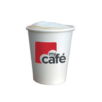 Mycafe 12oz Single Wall Hot Cups (Pack of 50) HVSWPA12V