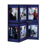 Nobo Blue /Grey Lightweight Showboard 6 Panel 1900043