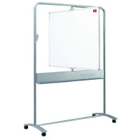 Nobo Mobile Steel Magnetic Vertical Whiteboard 900x1200mm 1901030
