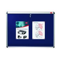 Nobo Lockable 1265x965mm Blue Visual Insert Board 1902049