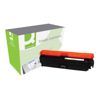Q-Connect HP 650A Remanufactured Magenta Laserjet Toner Cartridge CE273A