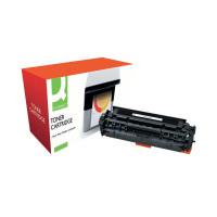 Q-Connect Compatible Solution HP 305A Black Laserjet Toner Cartridge CE410A