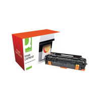 Q-Connect HP 305A Remanufactured Cyan Laserjet Toner Cartridge CE411A