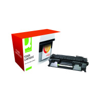 Q-Connect HP 05A Remanufactured Black Laserjet Toner Cartridge CE505A