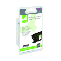 Q-Connect Brother Remanufactured Magenta Inkjet Cartridge LC1100M