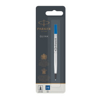 Parker Rollerball Refill Medium Blue (Pack of 12) S0881250