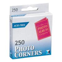 Photo Album Company Photo Corners White (Pack of 250) PC250