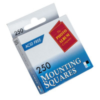 Photo Album Company Photo Mounting Squares White (Pack of 250) MS250