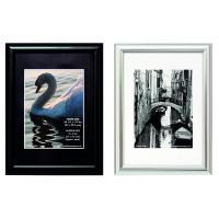 Photo Album Company A4 Shiny Black Certificate Frame PILA4SHIN-Black