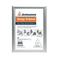 Announce A4 Snap Frame PHT01808