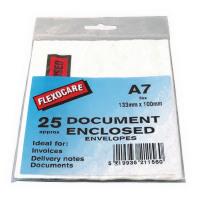 A7 Document Enclosed Envelopes For Parcels (Pack of 25) 57167110