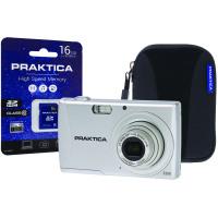 Praktica Luxmedia Z250 20mp 5x 64mb Camera Plus 16gb Card and Case Z250-S 16GBCASE