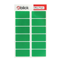 Blick Green Labels in Office Packs 25mm x 50mm (Pack of 320) RS019558