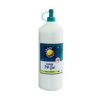 PVA School Glue Transparant 1L CPT31000