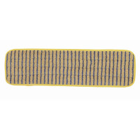 Rubbermaid Microfibre 400mm Scrubber Yellow Mop Head RU17533