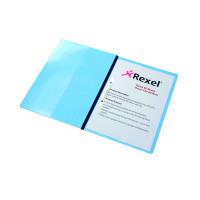 Rexel Nyrex Boardroom Files A4 Blue (Pack of 5) 13035BU