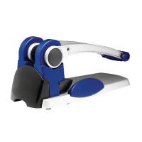 Rexel HD2300X Ultra Heavy Duty 2 Hole Punch Silver and Blue 300 Sheet 2101521