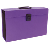 Rexel Joy Expanding Box File Perfect Purple 2104020