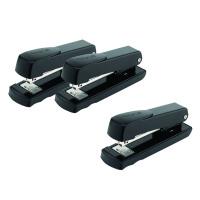 Rexel Meteor Stapler Half Strip Black (Pack of 3) RX810203