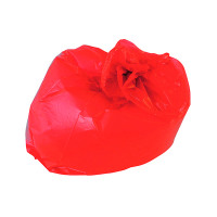 2Work Refuse Sack 100g Red (Pack of 200) CS003