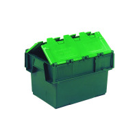 VFM Green 20 Litre Plastic Container With Lid 306578