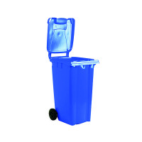 Wheelie Bin 80 Litre Blue (W445 x D525 x H930mm) 331261