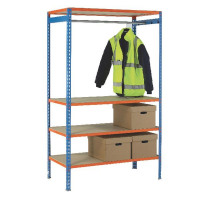 VFM 900mm Extra Pole For Garment Hanging Rail 379613