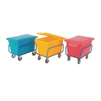 Poly Lid For Sct1 Truck Bin Yellow 326067