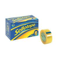 Sellotape Original Golden Tape 24mm x 33m (Pack of 6) 1443254