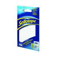 Sellotape Sticky Fixers 12 x 25mm Permanent (Pack of 140) 1445422