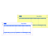 Custom Forms 2 Part Sage Payslips (Pack of 1000) SE32