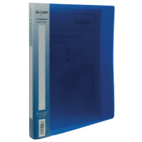Snopake Polypropylene 2 A4 Ring 15mm Electra Blue Ring Binder (Pack of 10) 10120