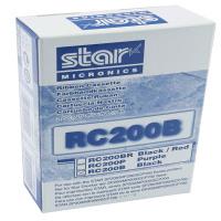 Star Black RC200B Fabric Ribbon For SP200/500 Dot Matrix Printer s 30980112