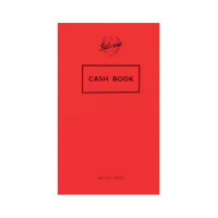 Silvine Cash Book 159x95mm 36 Leaf Cash (Pack of 24) 042C-T