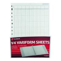 Rexel Variform V4 14 Column Cash Refill (Pack of 75) 75934