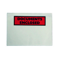 GoSecure Document Envelopes Documents Enclosed Self Adhesive DL (Pack of 1000) 4302004