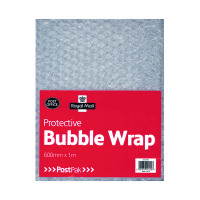 Postpak Protective Bubble Wrap Flat Sheet 600mmx1m (Pack of 8) 37728