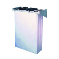 Vistaplan Wall Carrier A0 Grey (Use with Vistaplan Plan Hangers) WA0