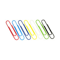 Paperclips Coloured 32mm (Pack of 1000) 30601