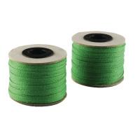 China Ribbon Cotton Green Roll 4mmx30m (Pack of 4) 9702004EME30