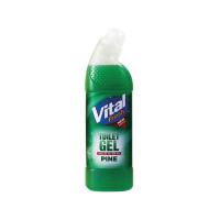Vital Fresh Toilet Gel Pine 750ml (Pack of 12) WX00212